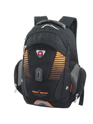 Рюкзак Stelz. Цвет: черный, оранжевый