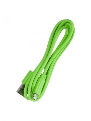 Дата-кабель micro/USB IQ Format. Цвет: зеленый