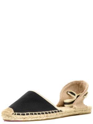 Эспадрильи Soludos. Цвет: черный