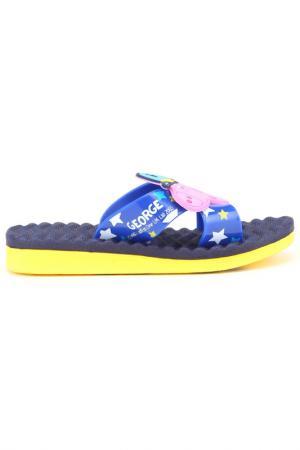 Пляжная обувь Peppa Pig. Цвет: синие