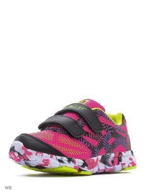 Кроссовки QWEST. Цвет: черный, розовый, фиолетовый