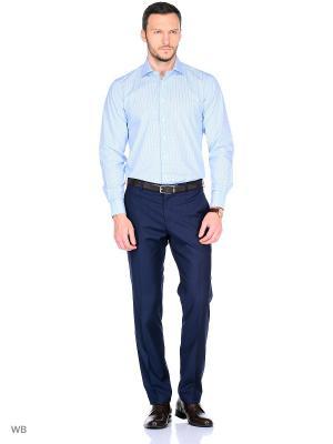 Рубашка Conti Uomo. Цвет: бирюзовый
