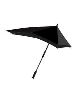 Зонт-трость senz  XXL pure black. Цвет: черный