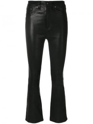 Укороченные брюки Rag & Bone /Jean. Цвет: чёрный