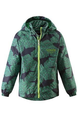 Куртка Lassie. Цвет: зеленый