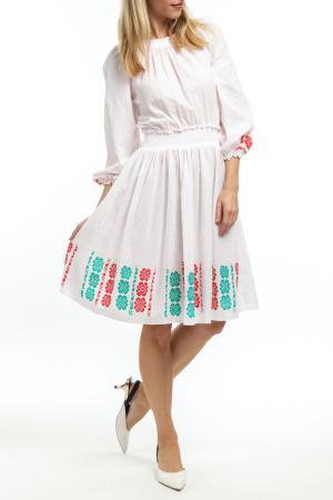 Платье Mashenka by J.A.. Цвет: белый