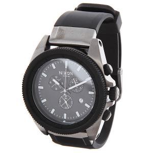 Часы  Rover Chrono Gunmetal/Black Nixon