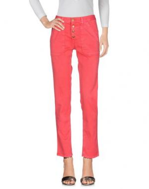 Джинсовые брюки BA&SH. Цвет: коралловый