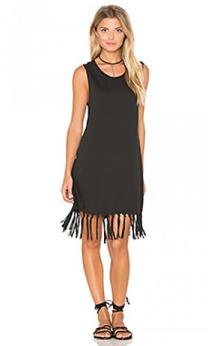 Платье dakota Stillwater. Цвет: черный