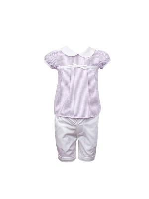 Комплект одежды WWW. Цвет: сиреневый