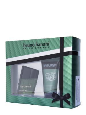 Made For Men Набор Туалетная вода 30 мл+гель для душа 50 мл Bruno Banani. Цвет: прозрачный
