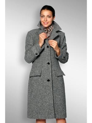 Пальто Sirenia. Цвет: серый