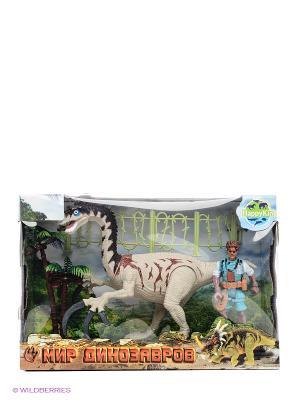 Набор динозавров Happy Kin. Цвет: белый