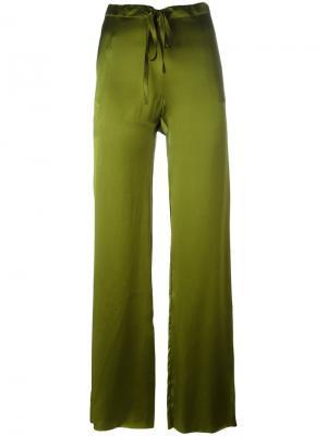 Широкие брюки Marquesalmeida Marques'almeida. Цвет: зелёный