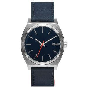Кварцевые часы  Time Teller Blue/Orange Nixon. Цвет: синий,серый,оранжевый