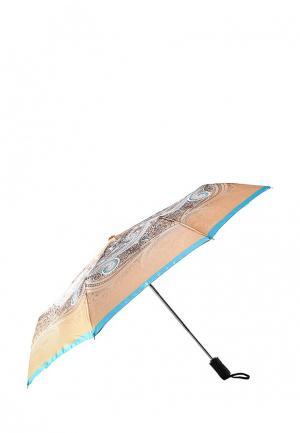 Зонт складкой Eleganzza. Цвет: разноцветный