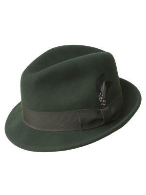 Шляпа Bailey. Цвет: зеленый
