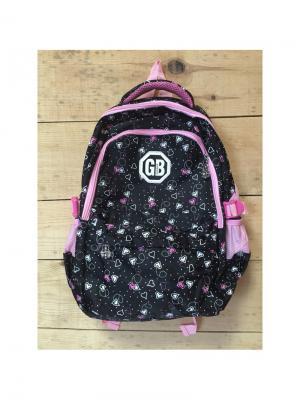 Рюкзак спортивный, цвет черный, PH6A02, Pink Hearts Gaoba. Цвет: черный