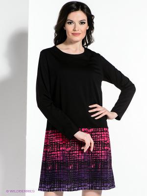 Платье Hammond. Цвет: черный, фиолетовый, фуксия