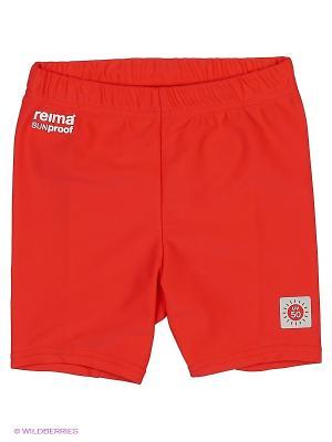 Шорты плавательные Reima. Цвет: красный