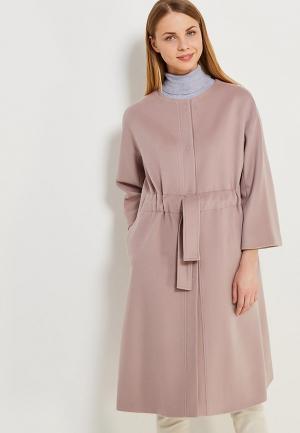 Пальто Parole by Victoria Andreyanova. Цвет: розовый