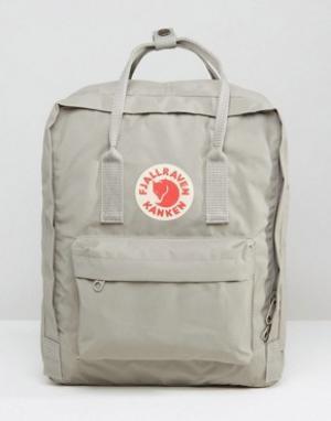 Fjallraven Серый рюкзак Kanken 16L. Цвет: серый