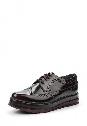 Ботинки Tamaris. Цвет: бордовый
