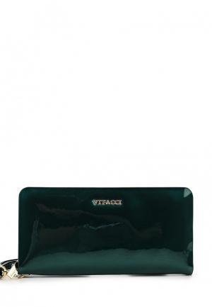 Кошелек Vitacci. Цвет: зеленый