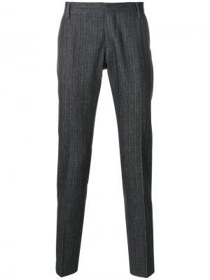 Классические брюки Entre Amis. Цвет: синий