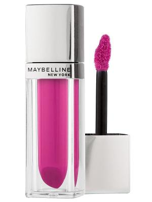 Жидкая помада для губ Color Elixir оттенок 135, Малиновое настроение, 5 мл Maybelline New York. Цвет: малиновый