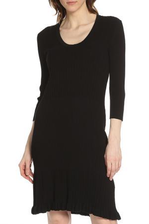 Облегающее трикотажное платье Liu Jo. Цвет: черный