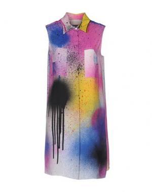 Короткое платье CHRISTOPHER KANE. Цвет: фуксия