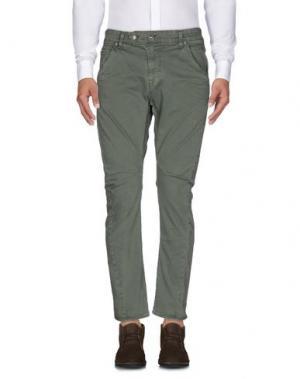 Повседневные брюки MELTIN POT. Цвет: зеленый