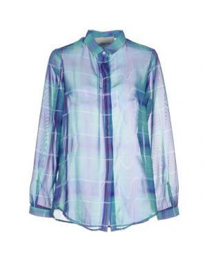 Pубашка TEE-TREND. Цвет: светло-зеленый