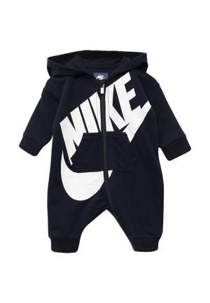Комбинезон Nike. Цвет: синий