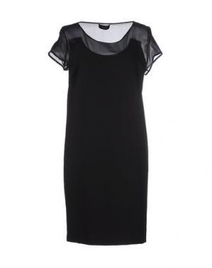 Короткое платье MALAICA. Цвет: черный