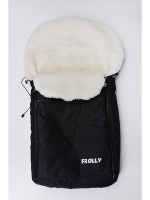 Конверт для малыша Frolly. Цвет: черный