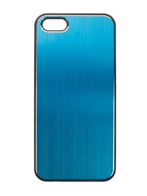Чехол крышка задняя для iphone 5 IQ Format. Цвет: голубой