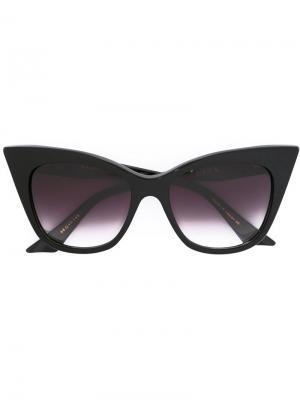 Солнцезащитные очки Magnifique Dita Eyewear. Цвет: чёрный