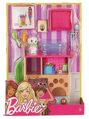 Наборы мебели Отдых дома в ассортименте Barbie. Цвет: малиновый