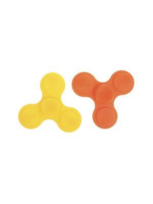 Комплект (Спиннер - 2 шт.) Happy Charms Family. Цвет: оранжевый, желтый