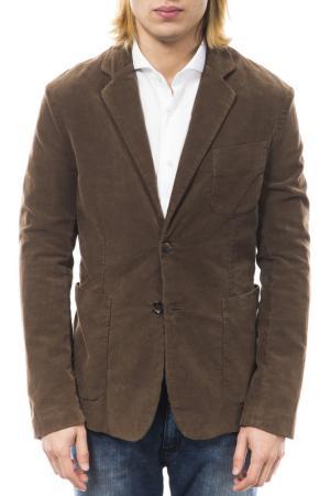 Пиджак Gas. Цвет: коричневый