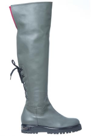 High boots Loretta Pettinari. Цвет: gray