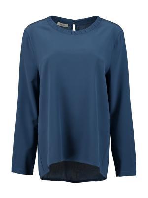 Блуза Cappellini. Цвет: синий