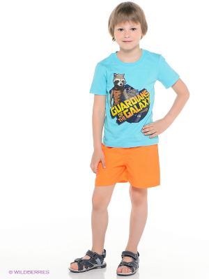 Шорты Teidem. Цвет: оранжевый