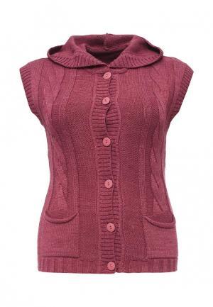 Жилет Milana Style. Цвет: розовый