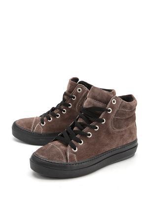 Ботинки MESSIMOD. Цвет: коричневый