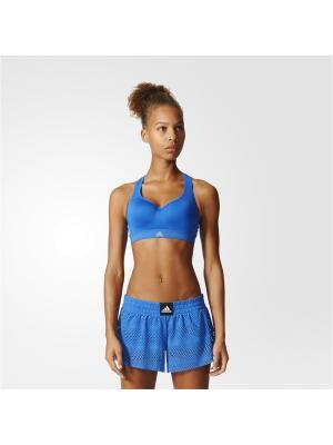 Спортивный бюстгальтер жен. CMMTTD X Adidas. Цвет: синий