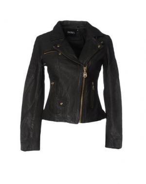 Куртка DOMA. Цвет: свинцово-серый
