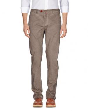 Повседневные брюки BARONIO. Цвет: светло-коричневый